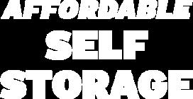affordable-self-storage Logo